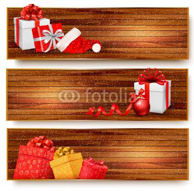 бежево-коричневые новогодние баннеры (5)