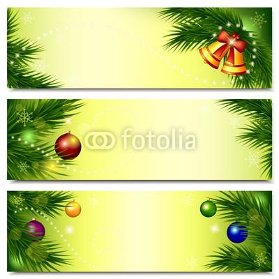 все оттенки зелёного для новогоднего баннера (5)
