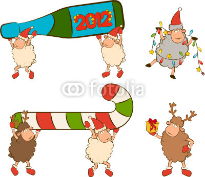 новогодние барашки (84)