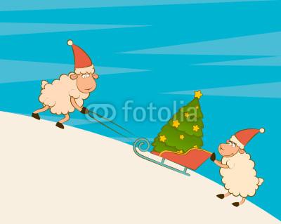 новогодние овечки (21)