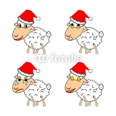 новогодние овечки (27)