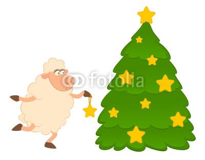 новогодние овечки (8)