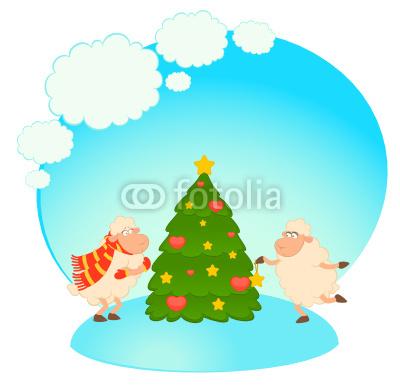 новогодние овечки (9)