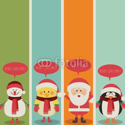 разноцветные новогодние баннеры (9)