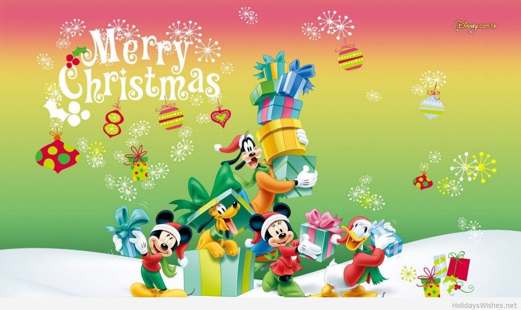 Merry-Christmas-disney-world-cartoon
