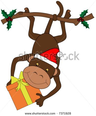 monkey christmas (123)