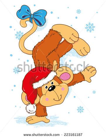 monkey christmas (125)