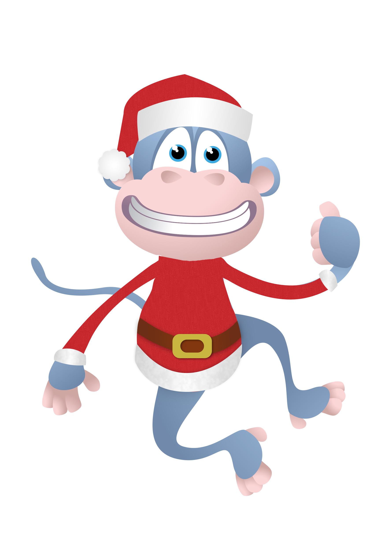 monkey christmas (127)