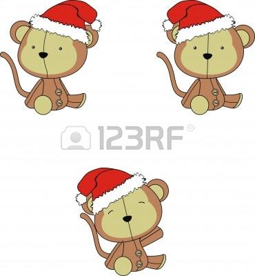 monkey christmas (133)
