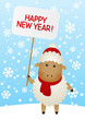 new year 2015 sheep  (12)