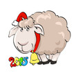 new year 2015 sheep  (2)