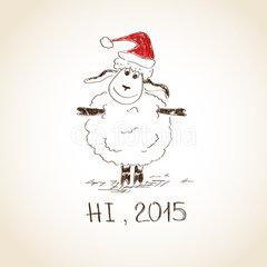 new year 2015 sheep  (27)