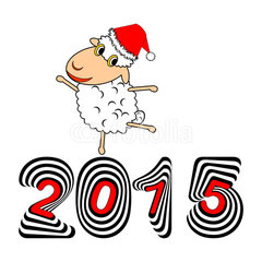 new year 2015 sheep  (28)