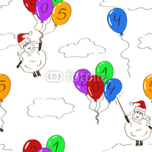 new year 2015 sheep  (29)