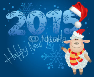 new year 2015 sheep  (30)