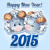 открытки год козы   (3)