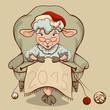 new year 2015 sheep  (7)