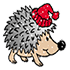 new year hedgehog (3)