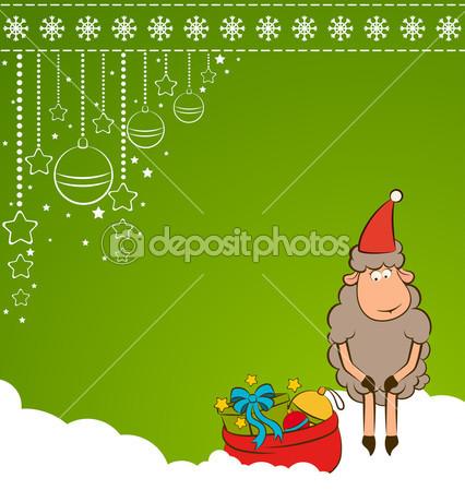 открытки год козы (12)