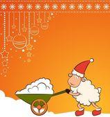 открытки год козы (13)