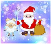открытки год козы (33)