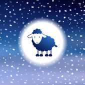 открытки год козы (34)