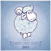 открытки год козы (44)