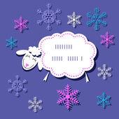 открытки год козы (49)