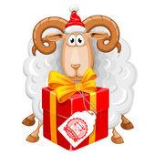 открытки год козы (52)