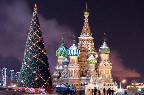 Новогодняя ёлка 2015 в Кремле