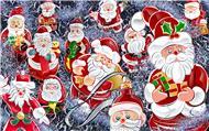 santa new year cards (9)