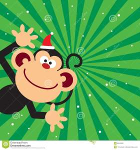 http://www.dreamstime.com/stock-photo-monkey-celebrate-christmas-image8954520