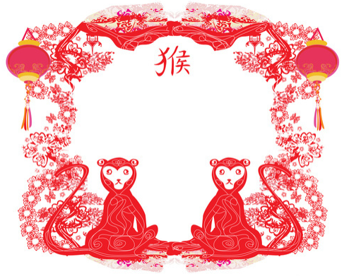 Год красной огненной обезьяны