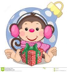 картинки новогодняя обезьяна (41)