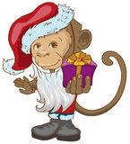 картинки новогодняя обезьяна (47)