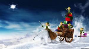 """Новогодний сценарий: """"Лесная нечисть на новогоднем празднике"""""""